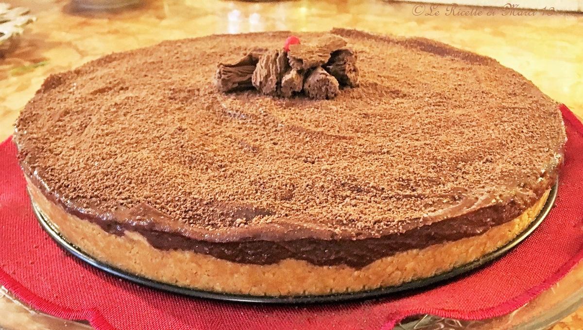 cheesecake nutella e mascarpone