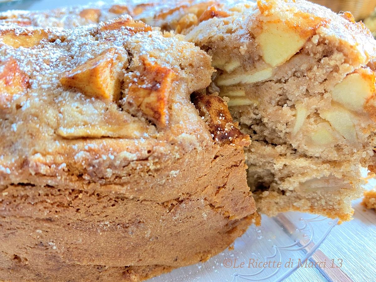 Torta di mele super morbida