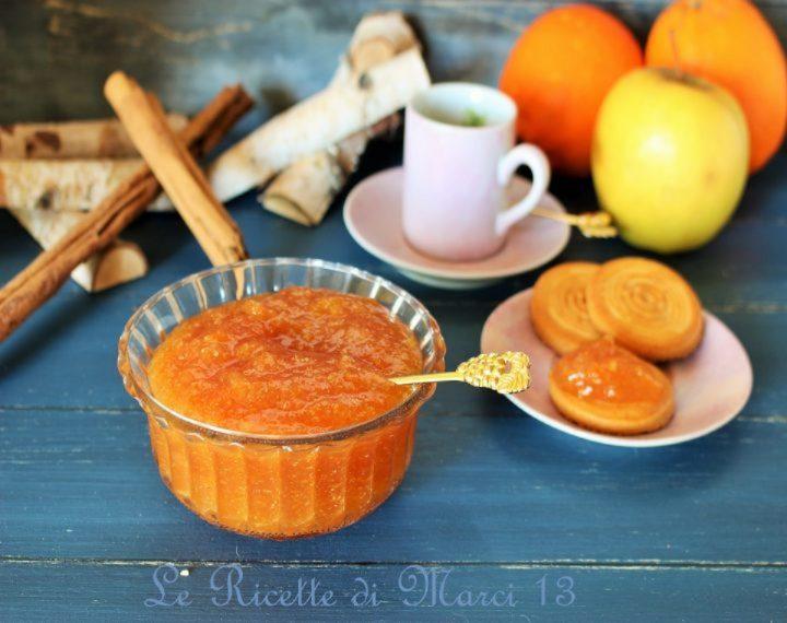 Marmellata di mele cotogne e arance
