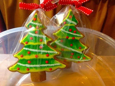 Biscotti pan di zenzero per decorare l'albero di natale 2