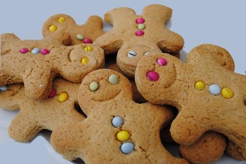 Biscotti pan di zenzero per decorare l'albero di natale 4