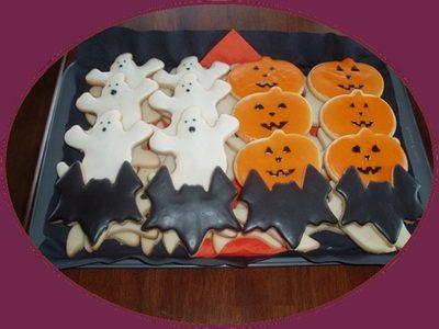 Halloween Biscotti decorati