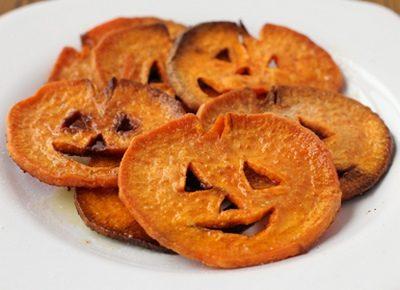 Halloween: Faccine di zucca al forno