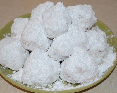 Palline di castagne (Dolce senza cottura)