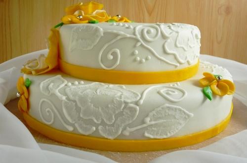 Glassa reale per decorare le torte le ricette di maria - Decorazioni torte con glassa ...