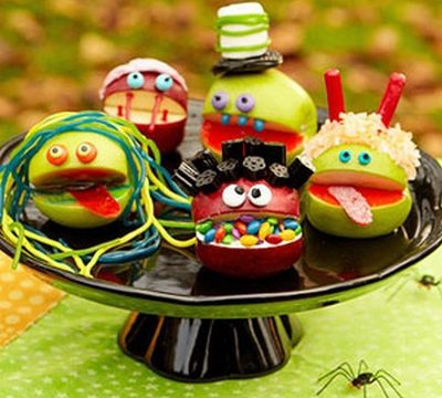 Ricetta Halloween faccine di mele stregate