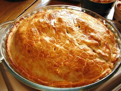 Torta salata mare e monti