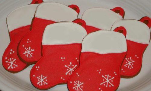 Biscotti calze della befana speziati