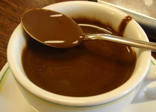 Cioccolata in tazza classica