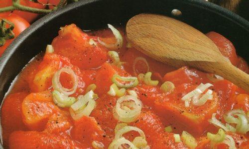 Sugo di Pomodori in padella