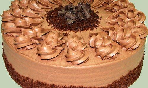 Torta alla mousse di cioccolata
