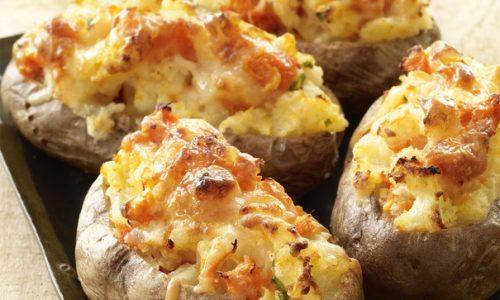 Barchette di patate alla carne