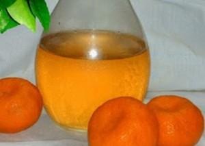 Liquore di mandarino e cannella