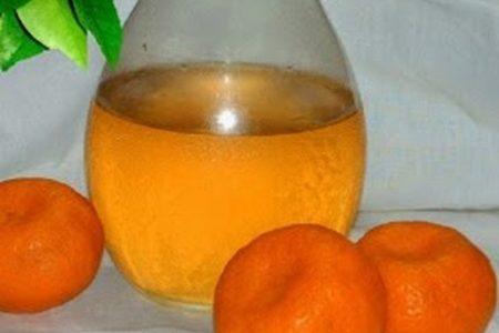 Liquore al mandarino e cannella