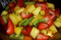 Macedonia di frutta tropicale