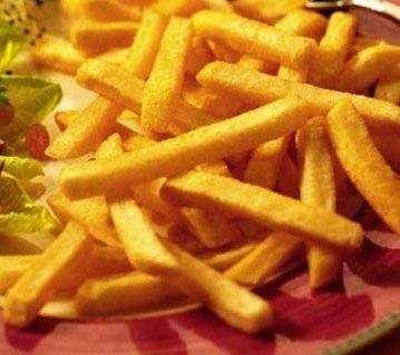 Patate fritte a bastoncini