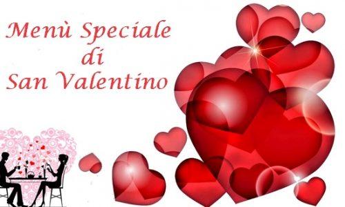 Menu Speciale San Valentino