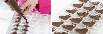 Cioccolatini fai da te San Valentino