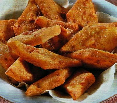 Frittelle soffici di patate