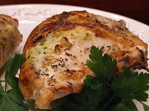 Petti di pollo gratinati al formaggio