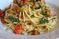 Spaghetti alle acciughe fresche
