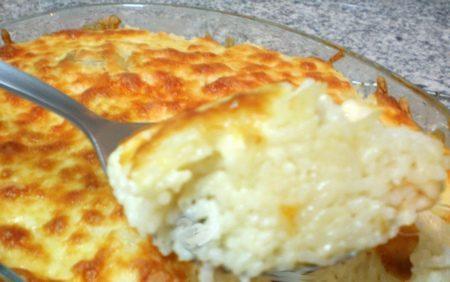 Timballo di riso alla mozzarella