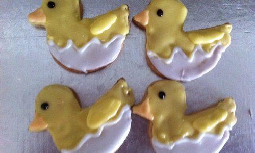 Biscotti Pasquali coniglietti e pulcini