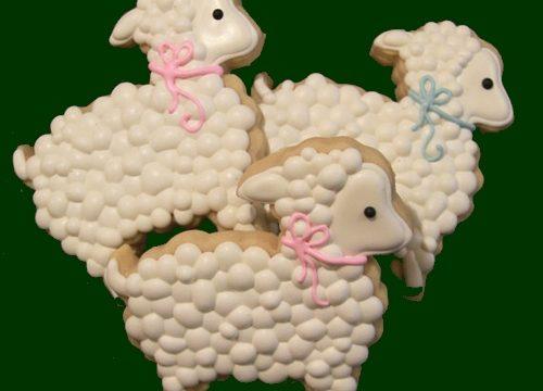 Biscotti pecorelle pasquali