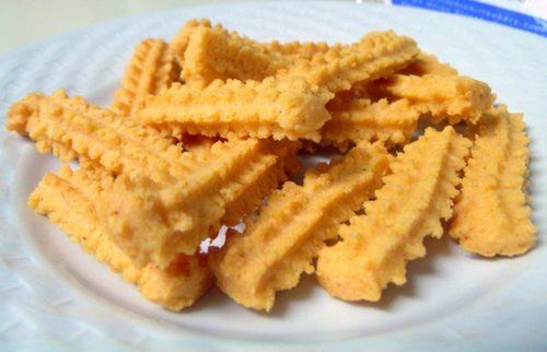 Biscotti dolci di patate