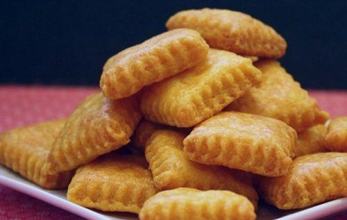 Biscotti losanghe alle mandorle