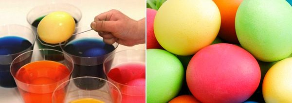 Come dipingere le uova sode di Pasqua in modo naturale