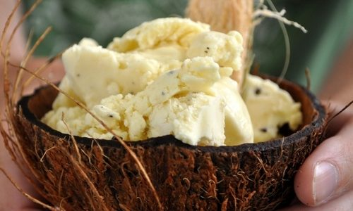 Gelato alla noce di cocco