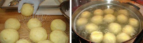 Gnocchi di patate con ripieno di pancetta