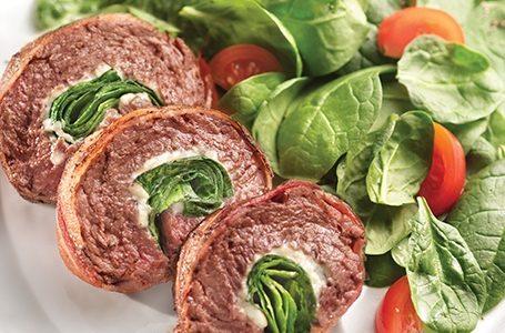 Involtini di carne alle verdure