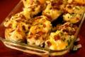 Patate a barchette gratinate al formaggio