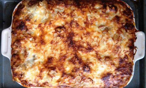 Patate al formaggio e besciamella