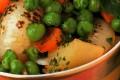 Piselli con patate