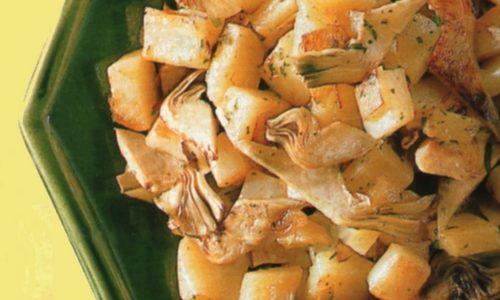 Carciofi con patate