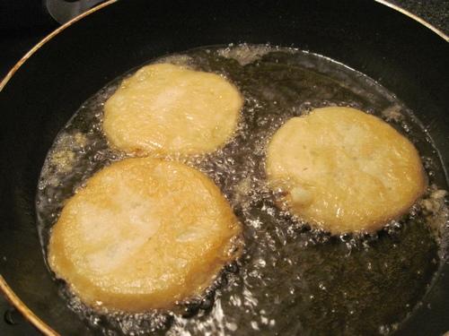Polpette dolci di ricotta e patate2