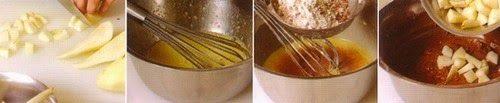 Torta di pere e cioccolato