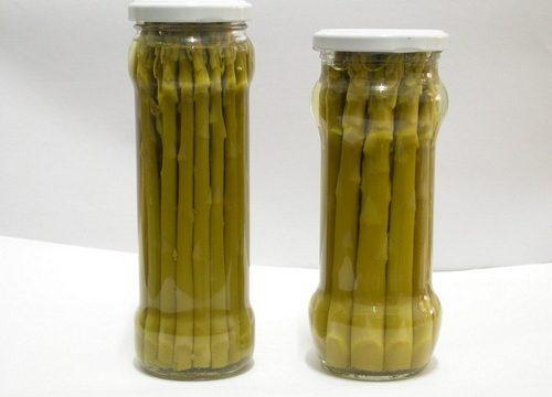 Conserva di asparagi al naturale