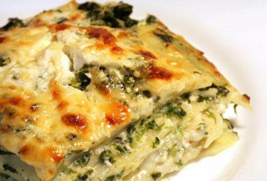 Pasticcio di lasagne ai carciofi al forno
