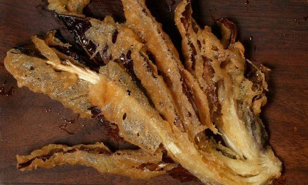 Radicchio fritto in pastella