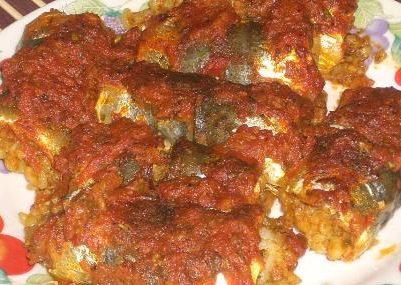 Sardine al pomodoro con peperoncino