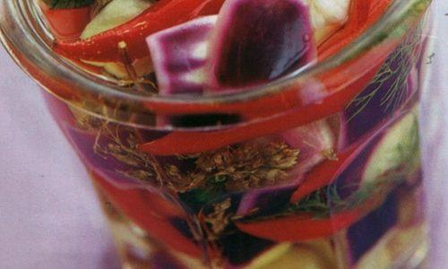 Conserva di melanzane alla calabrese