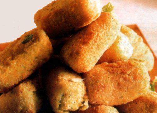 Crocchette di patate al pangrattato