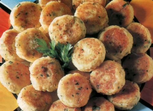 Frittelle di patate semplici all'origano