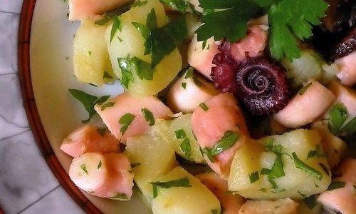 Insalata di seppioline e patate