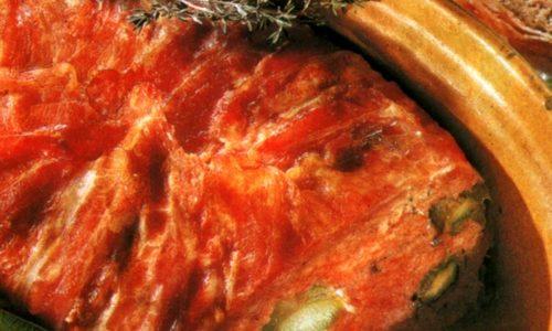 Tortino di carne agli asparagi
