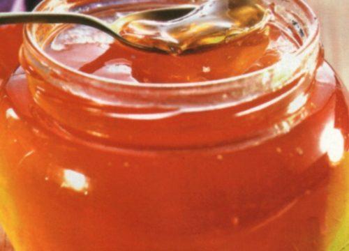 Conserva in gelatina di uva e mele